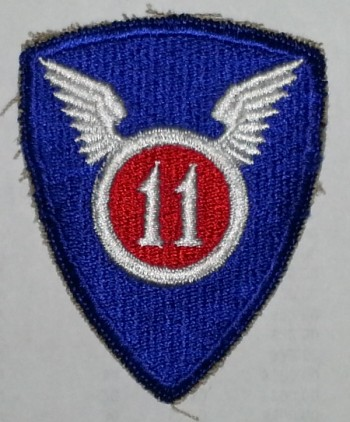 11th Airborne Division, Color, Cut-Edge