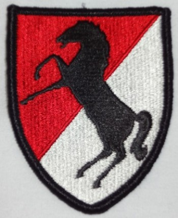 11th. Armored Cavalry Regiment, Color