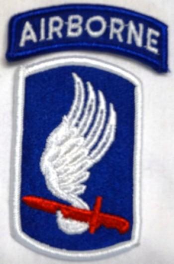 173rd. Airborne Brigade, Color