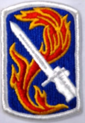 198th. Infantry (Light) Brigade, Color