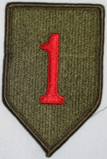 1st. Infantry Division, Color