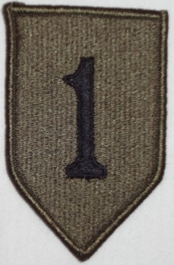1st. Infantry Division, Subd.