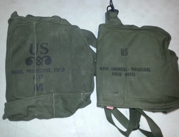M-17 Gas Mask Bag