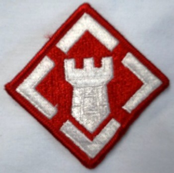 20th. Engineer Brigade, Color