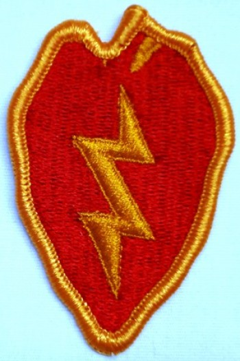 25th. Infantry Division, Color