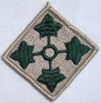 4th. Infantry Division, Color