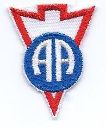 82nd ABN Raider / Recondo School Patch, Color