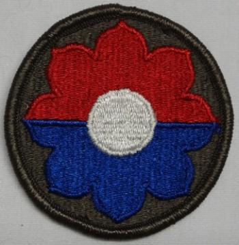 9th. Infantry Division, Color