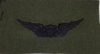 Army Aviator Badge. Subdued.