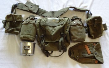 US Army Basic Field Gear Package, EXC
