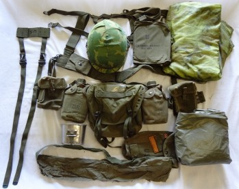 US Army Complete Field Gear Package, EXC