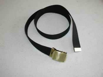 Belt, Trouser, Web, Brass Buckle