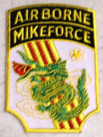 C-4 Mike Force. Embroidered.