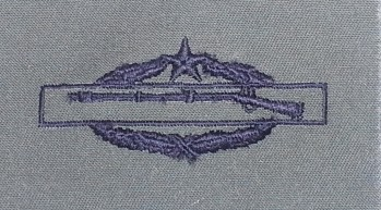 Combat Infantryman's Badge, 2nd Award, Subdued