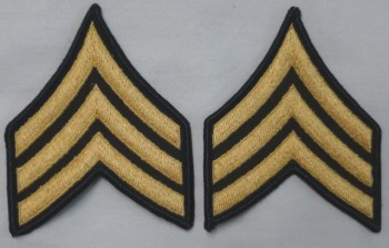 Sergeant, Color Sleeve Set (Gold on Green)