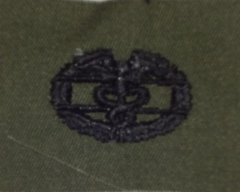 Combat Medic Badge. Subdued.