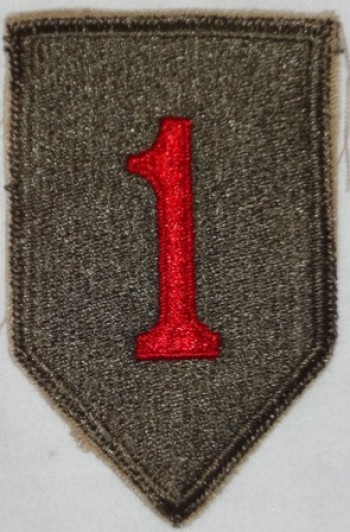 1st. Infantry Division, Color, Cut-Edge