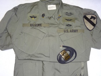Lt. Col. Kilgore Uniform Package
