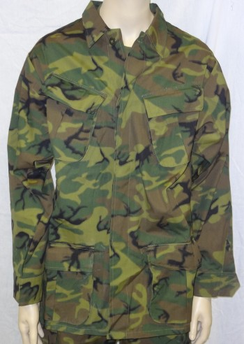 Repro ERDL Poplin Jungle Fatigue Coat