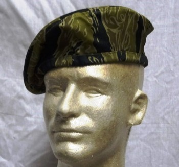 Advisor Sparse (Gold) Tiger Stripe Beret, Reproduction