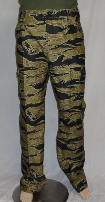 Advisor Sparse Tiger Stripe Pants (Gold)