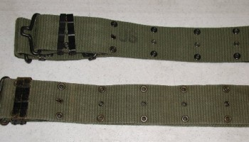 M-56 Pistol Belt, Vertical: Long