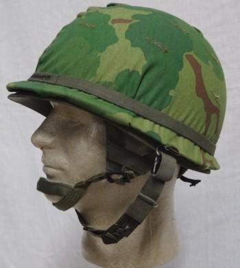 M-1C Airborne Helmet Complete, Reenactor