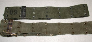 M-56 Pistol Belt, Horizontal: Medium