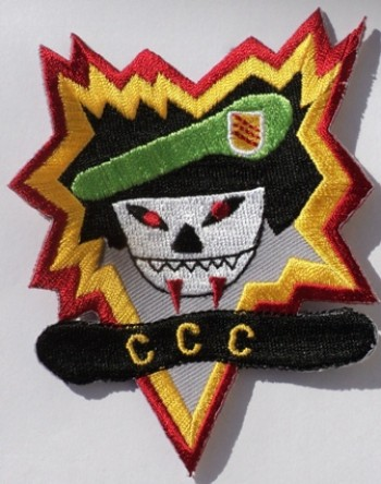 MACV-SOG, CCC. Embroidered, Color.