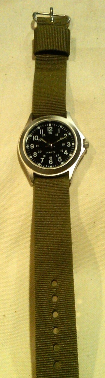 Military Style Wristwatch