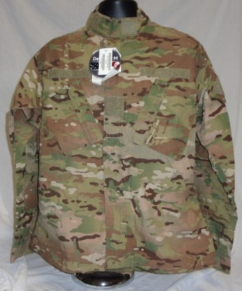 Coat, Army Combat Uniform, Multicam