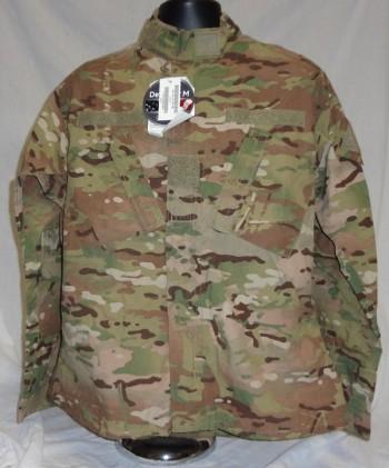 Coat, Army Combat Uniform, Multicam