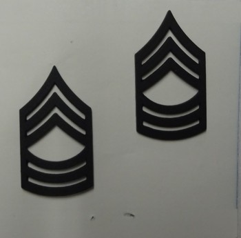 Master Sergeant, Pin-On Subd
