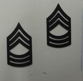 Master Sergeant, Pin-On Subd