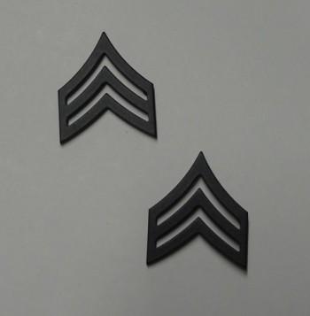 Sergeant, Pin-On Subd