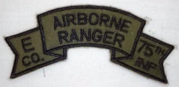E Company (9th. Infantry Division), Subd.