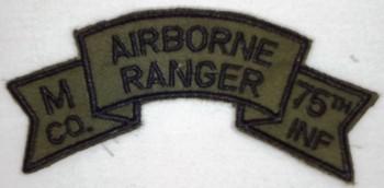 M Company (199th. Light Infantry Brigade), Subd.