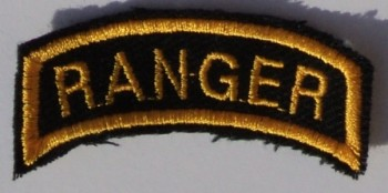 Ranger Tab, Twill, Color.