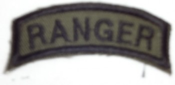 Ranger Tab, Twill, Subd