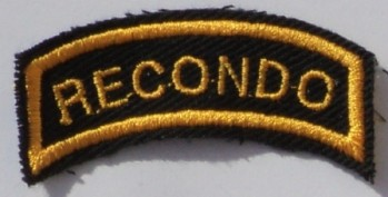 Recondo Tab, Twill, Color.