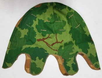 Helmet Cover, Mitchell Pattern, Repro