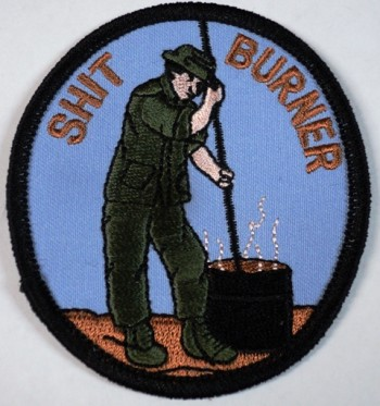 Shit Burner Patch.