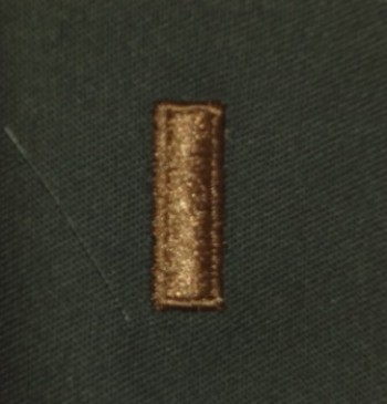 2nd Lieutenant, Sew-On Subd.