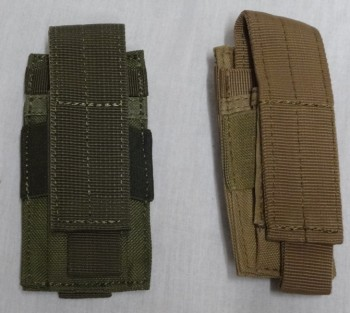 Single Pistol Mag Pouch, OD or Tan