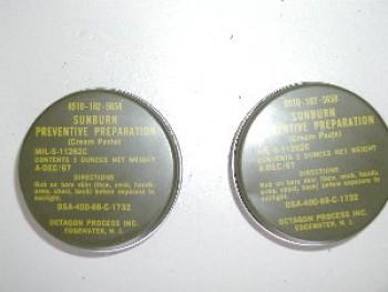 USGI Sunburn Preventative Cream