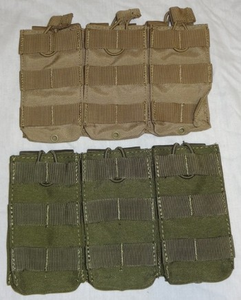 M4 Triple Magazine Pouch, OD or Tan