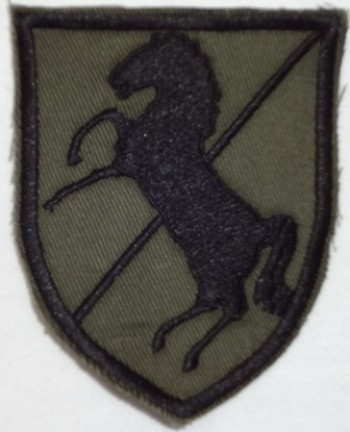 11th. Armored Cavalry Regiment, Subd. Twill
