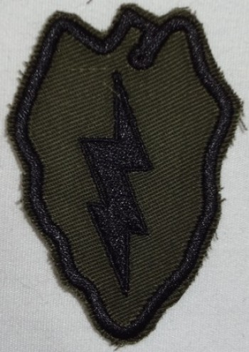 25th. Infantry Division, Subd. Twill