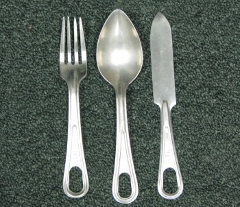USGI Mess Kit Utensil Set