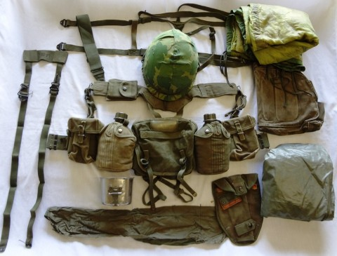 Us Army Complete Field Gear Package Vg